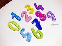 Magnetky - učíme sa čísla...magnety - 6777187_