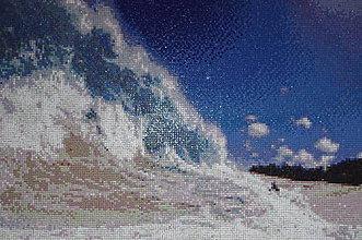 Obrazy - mozaika more 1 - 6777221_