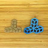Pomôcky - vykrajovačka 3D kocky - 6777174_