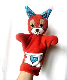 Hračky - Maňuška veverička - Veverička od Modrého prameňa - 6778058_