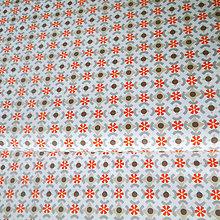 Textil - farebné kruhy; 100 % bavlna, šírka 160 cm, cena za 0,5 m - 6779024_