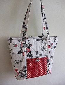 Veľké tašky - Kati No.1 - Paríž - 6780224_