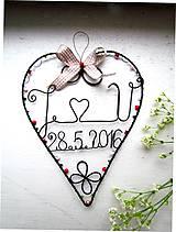 Dekorácie - svadobné - 6776468_