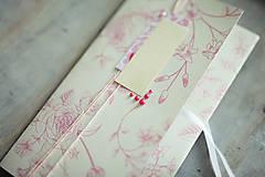 Papiernictvo - Obálka na peniaze - ružová so žltou - 6782571_