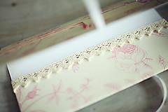 Papiernictvo - Obálka na peniaze - ružová so žltou - 6782573_
