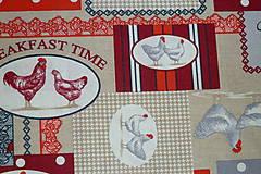 Textil - Látka Koko červená - 6783491_