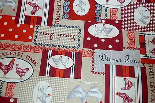 cacdd7f66 Látka Koko červená / SlovAB - SAShE.sk - Handmade Textil