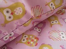 Textil - Sovičky bavlnené návliečky do postieľky francúzsky dizajn - 6781128_