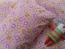 Textil - Sovičky bavlnené návliečky do postieľky francúzsky dizajn - 6781129_