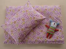 Textil - Sovičky bavlnené návliečky do postieľky francúzsky dizajn - 6781130_