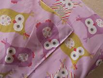Textil - Sovičky bavlnené návliečky do postieľky francúzsky dizajn - 6781132_