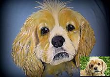 Tričká - Maľovaný psík - 6783923_