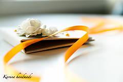 Darčeky pre svadobčanov - Pohľadnica/Svadobná gratulačná karta /Obálka na peniaze - 6781848_