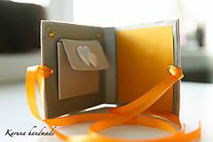 Darčeky pre svadobčanov - Pohľadnica/Svadobná gratulačná karta /Obálka na peniaze - 6781849_