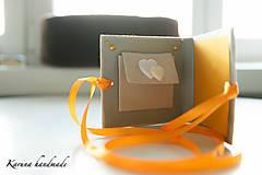 Darčeky pre svadobčanov - Pohľadnica/Svadobná gratulačná karta /Obálka na peniaze - 6781850_