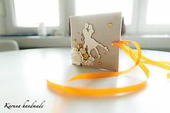Darčeky pre svadobčanov - Pohľadnica/Svadobná gratulačná karta /Obálka na peniaze - 6781854_