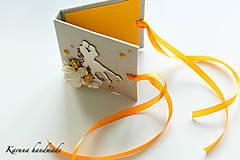 Darčeky pre svadobčanov - Pohľadnica/Svadobná gratulačná karta /Obálka na peniaze - 6781856_