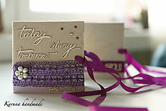 Darčeky pre svadobčanov - Obálka na peniaze - 6781926_