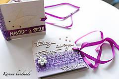 Darčeky pre svadobčanov - Obálka na peniaze - 6781928_