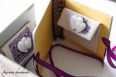 Darčeky pre svadobčanov - Obálka na peniaze - 6781932_