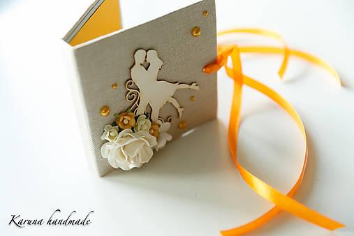 Pohľadnica/Svadobná gratulačná karta /Obálka na peniaze