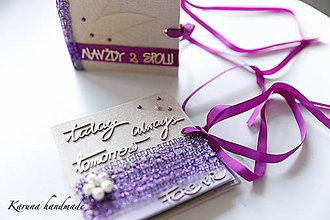 Darčeky pre svadobčanov - Obálka na peniaze - 6781929_