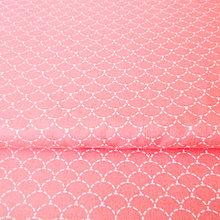 Textil - ružové šupinky; 100 % bavlna, šírka 160 cm, cena za 0,5 m - 6782535_