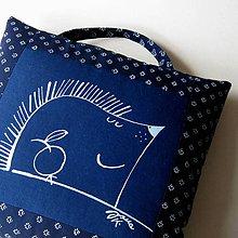Úžitkový textil - BODLINKA - polštář - 6784063_
