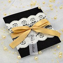 Papiernictvo - Elegantné svadobné oznámenie - 6782001_
