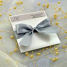 Papiernictvo - Svadobné oznámenie - 6782168_