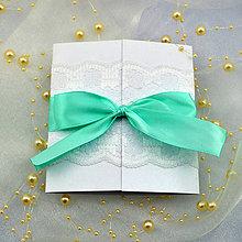 Papiernictvo - Elegantné svadobné oznámenie - 6782306_
