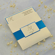 Papiernictvo - Elegantné svadobné oznámenie - 6782364_