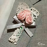 Pierka - Veľké svadobné pierka Creme - 6783939_