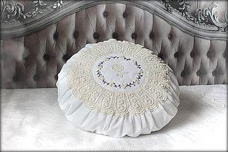 Úžitkový textil - Lace Rose ❁ - 6784458_