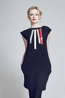Šaty - FNDLK úpletové šaty 89 RL - 6787365_