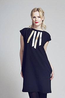 Šaty - FNDLK úpletové šaty 90 RL - 6787383_