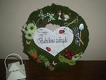 Dekorácie - Venček pre babičku - 6785605_