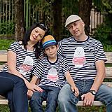 Tričká - Rodinné tričká (Macko pruhovaný) - 6784550_