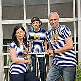 Tričká - Rodinné tričká (Macko zlatý) - 6784560_