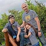 Tričká - Rodinné tričká (Macko zlatý) - 6784564_