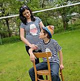 Tričká - Rodinné tričká (Macko pruhovaný) - 6784668_