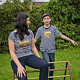Tričká - Rodinné tričká (Macko zlatý) - 6784670_