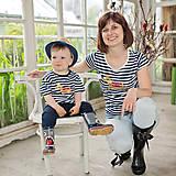 Tričká - Rodinné tričká (Koník zlatý) - 6784675_