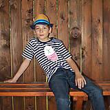 Tričká - Detské tričká (Macko pruhovaný) - 6784717_
