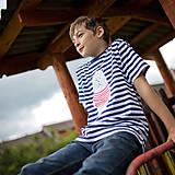 Tričká - Detské tričká (Macko pruhovaný) - 6784719_