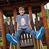 Tričká - Detské tričká (Macko pruhovaný) - 6784720_