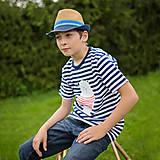 Tričká - Detské tričká (Macko pruhovaný) - 6784721_