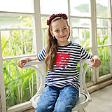 Tričká - Detské tričká (Pruhovaná líška červená) - 6784727_