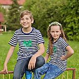 Tričká - Detské tričká(Mýval zelený) - 6784753_
