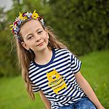 Tričká - Detské tričká (Žltý macko) - 6784766_